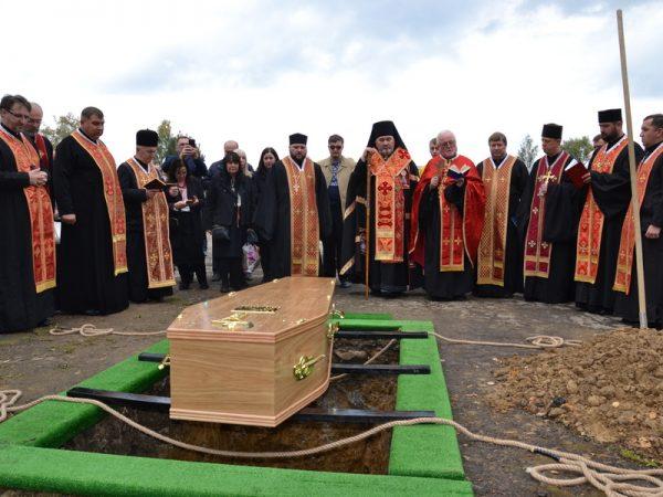 Владика Василь Івасюк очолив похорон всесвітньо відомого бандуриста Володимира Луціва