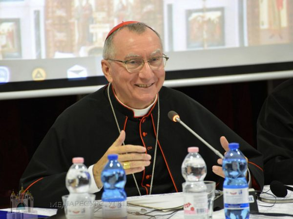 Слово кардинала Пєтро Пароліна, Державного Секретаря Ватикану, до Синоду Єпископів УГКЦ