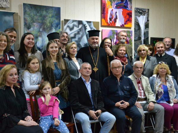 Владика Василій привітав коломийських митців з 5-ю річницею створення спілки