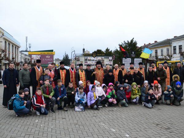 У Коломиї провели мітинг-реквієм до Дня Гідності та Свободи