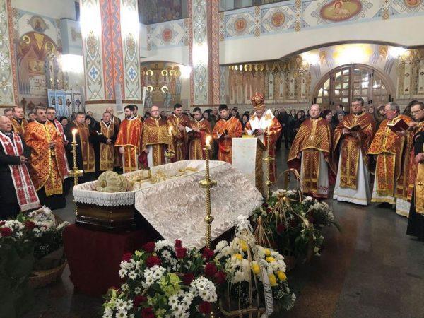 Священичий парастас за о. м. Григорієм Юрахом