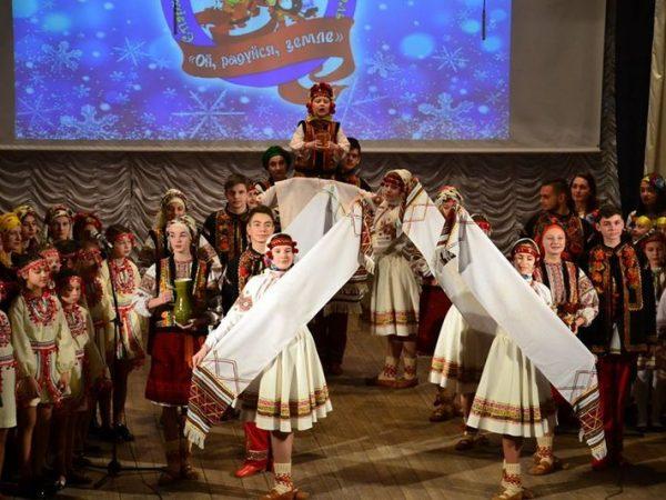 """У Коломиї відбувся різдвяний фестиваль """"Ой радуйся, земле"""""""
