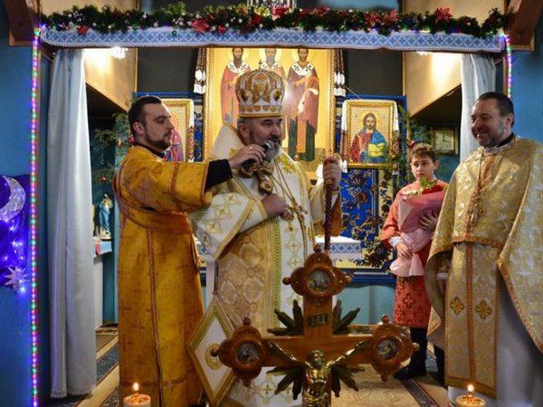 Храмове свято на парафії Трьох Святителів м. Надвірна