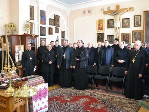 У Коломийській єпархії відбулась розколяда духовенства