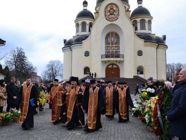 Похорон о. м. Григорія Юраха