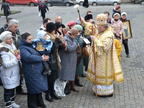 Архиєрейське богослужіння у неділю Православ'я