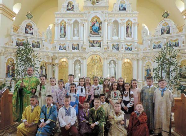 Учні Гвіздської школи подякували Богові за закінчення навчального року