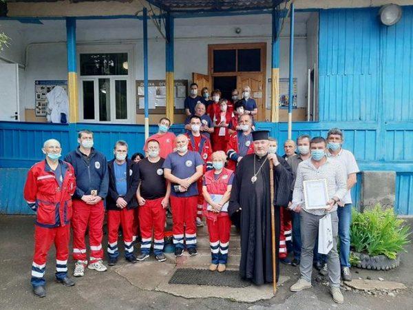 Духовенство єпархії привітало медиків Коломиї з професійним святом