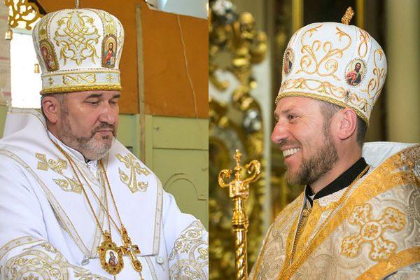 Владика Василь Івасюк привітав нововисвяченого владику Миколая Бичка