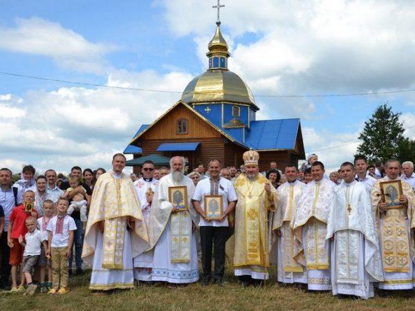 Освячення Товмачицької ікони Пресвятої Богородиці