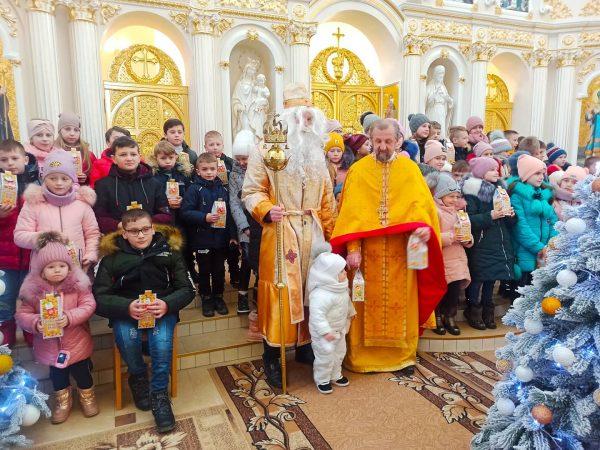 Урочисте богослужіння з нагоди празника Св. Миколая Чудотворця в селі Гвізд