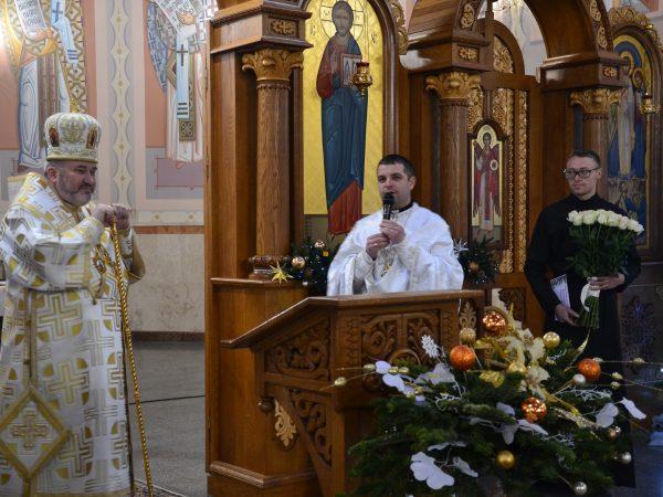 Духовенство собору привітало владику Василія з днем народження
