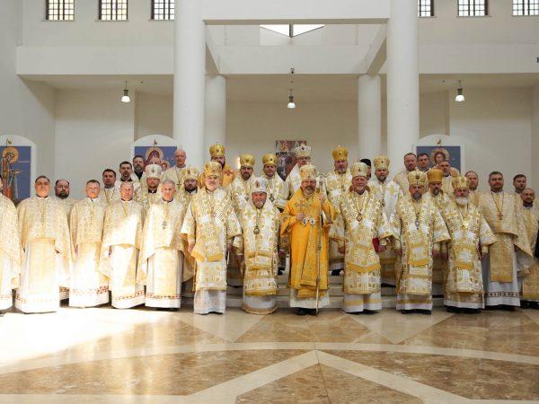 Владика Василій Івасюк взяв участь в урочистостях з нагоди 10-ліття інтронізації Блаженнішого Святослава