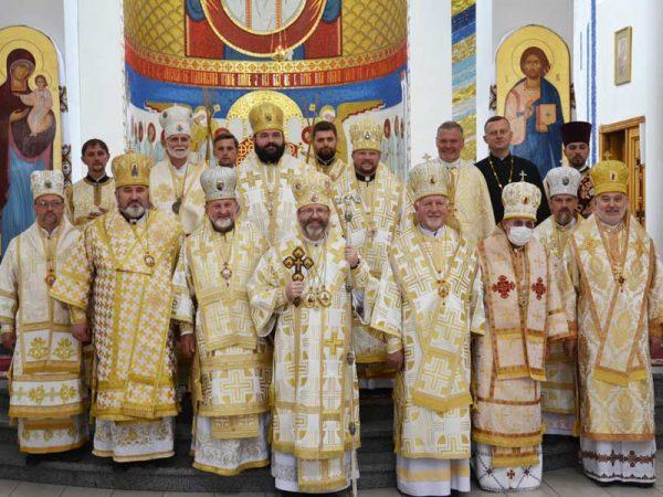 Кир Василій Івасюк взяв участь в урочистостях з нагоди 20-ої річниці візиту Папи Римського Івана Павла ІІ до Львова
