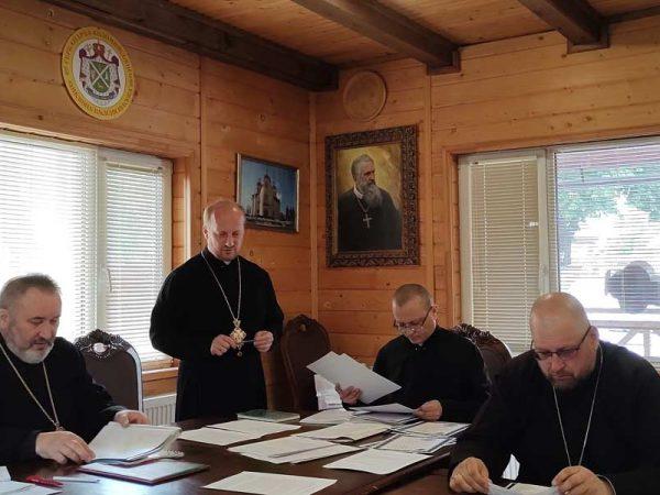 У Коломийській єпархії УГКЦ відбулись збори протопресвітерів
