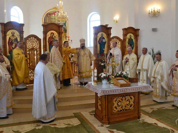 Владика Василій відвідав храм Різдва святого Івана Хрестителя с. Перерісль