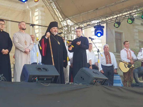 Владика Василій Івасюк взяв участь у святкуванні Дня міста Яремче