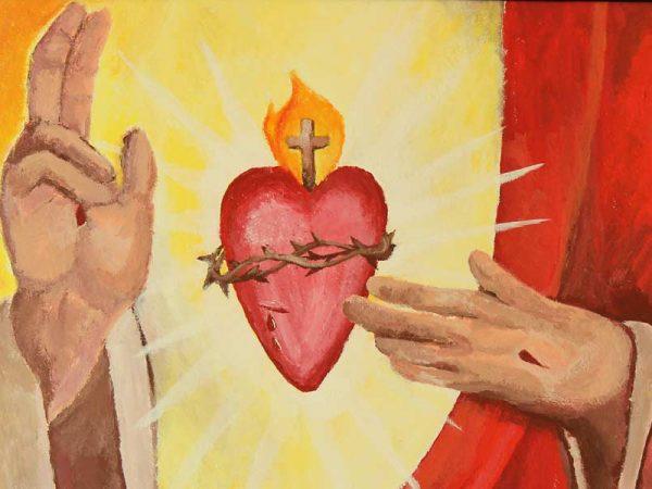 Слово з нагоди Пресвятого Серця Христового.