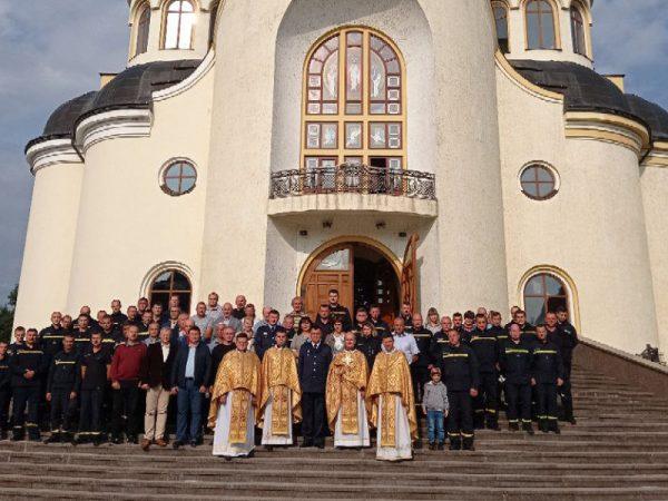 Рятувальники Коломийського району у молитві відзначили День рятівника