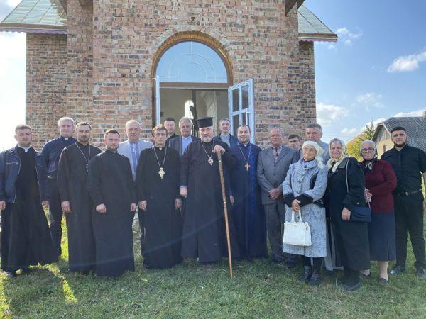 Владика Василій Івасюк відвідав парафію Покрову Пресвятої Богородиці с. Грабич