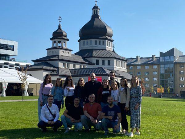 Молодь Коломийської єпархії взяла участь у фестивалі «Вітер на-Дії»