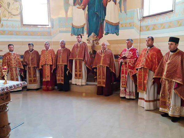В Отинійському протопресвітеріаті молились за померлих священиків.