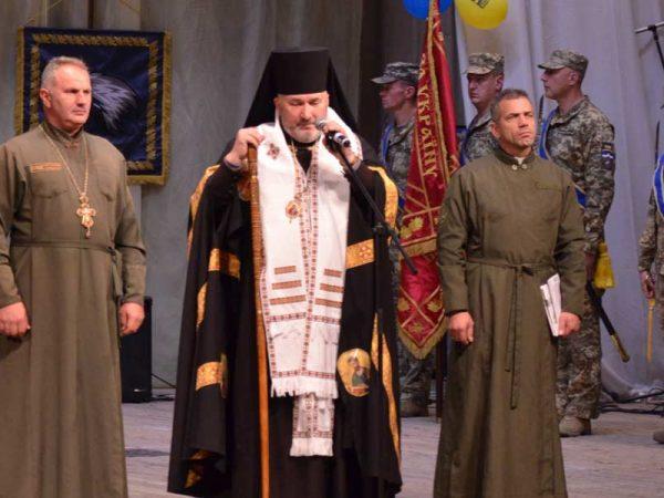 Владика Василій взяв участь у святкуваннях з нагоди 6-річниці створення 10-тої окремої гірсько-штурмової бригади